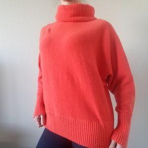 Banana Republic Oversized Sweater Orange
